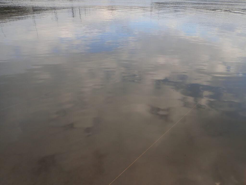 有明海でハゼクチ釣り