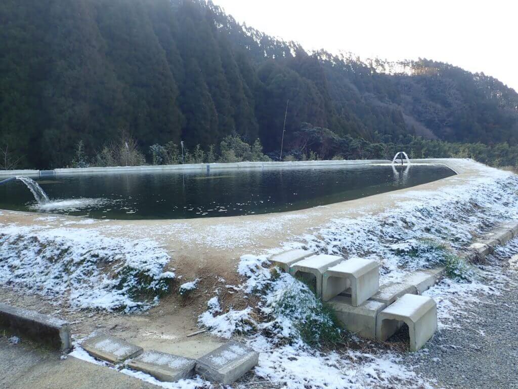 佐賀の厳木町にある平之ニジマス公園