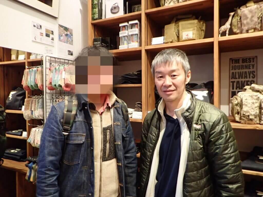 水口謙二さんと記念撮影