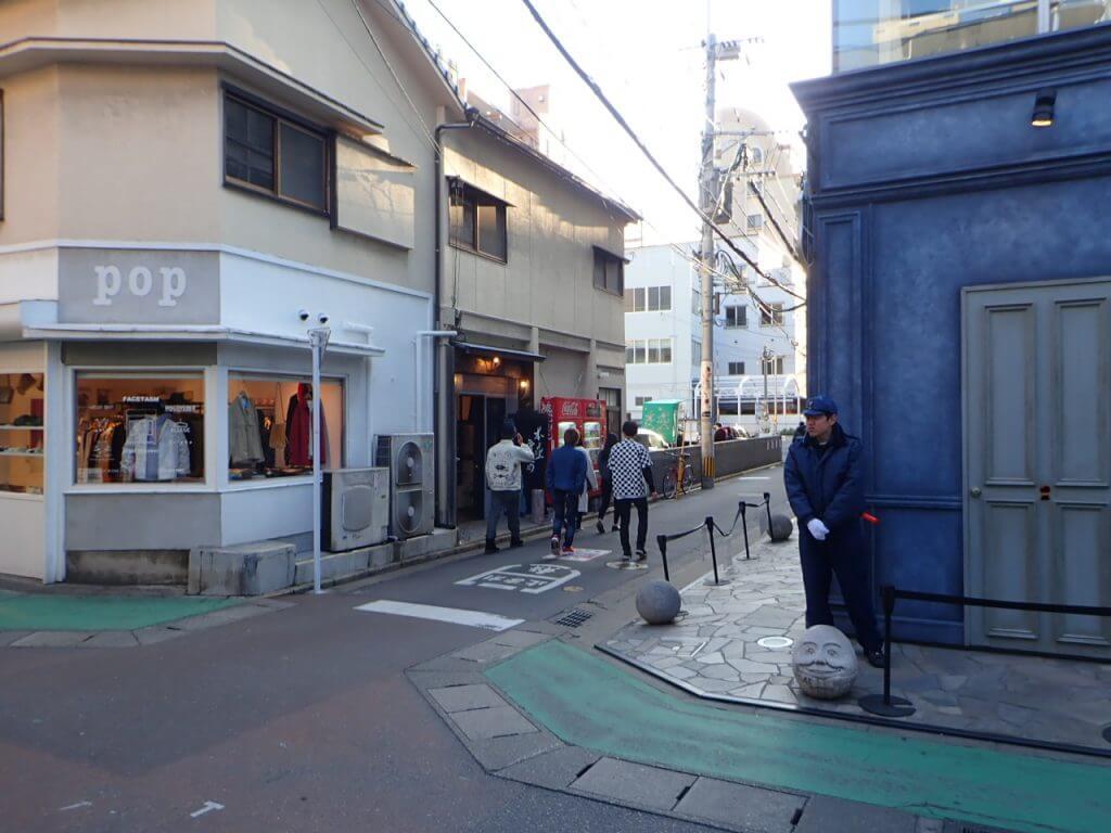 福岡大名のメインストリート