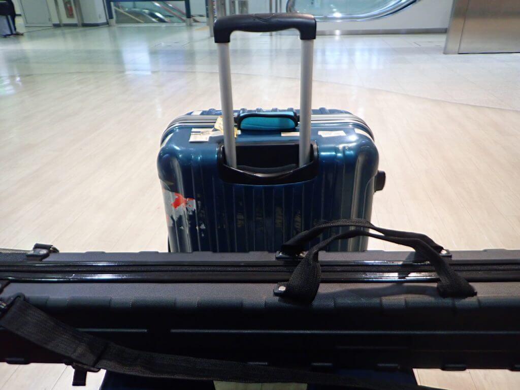 空港での一コマ