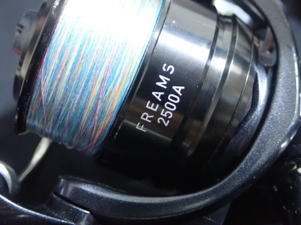 海外版のダイワフリームス2500A