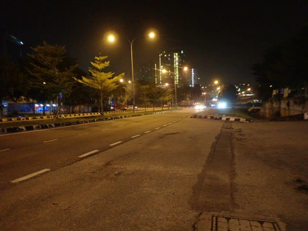 マレーシアの郊外