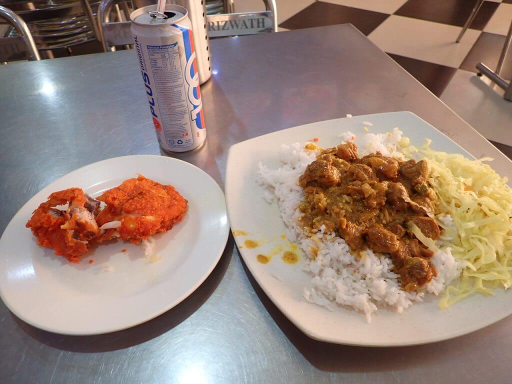 マレーシアでの朝食