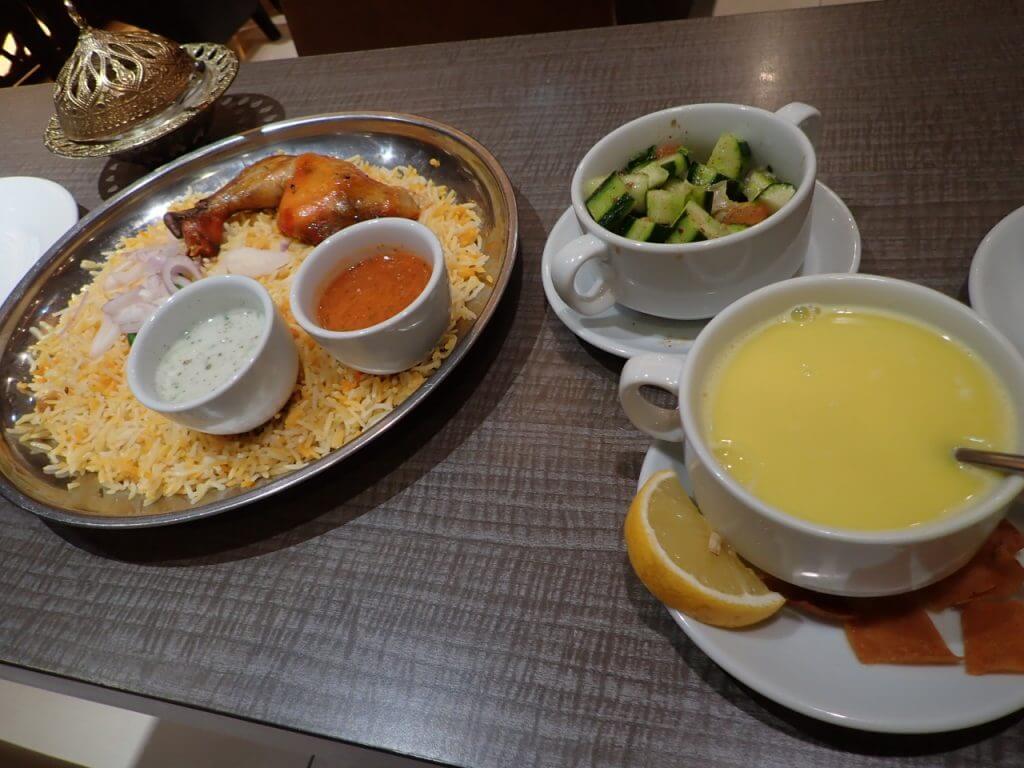 アラブ料理はさっぱりした味