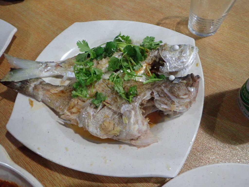 魚は蒸し料理に