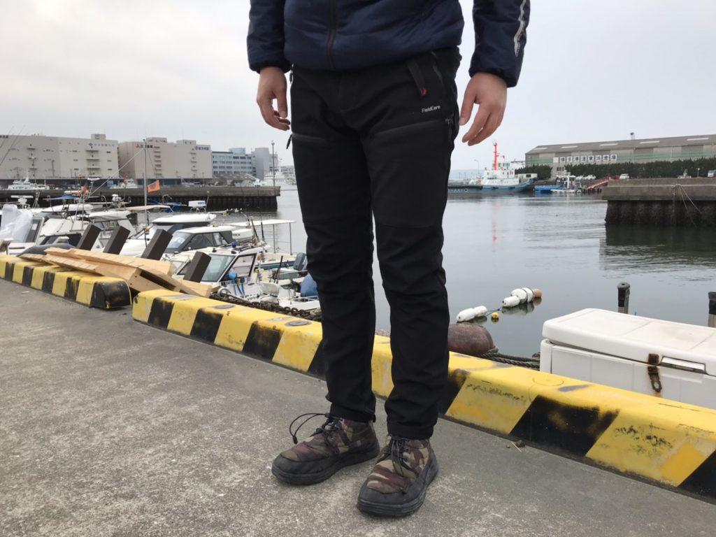ワークマンのウォームクライミングパンツを履いてみた