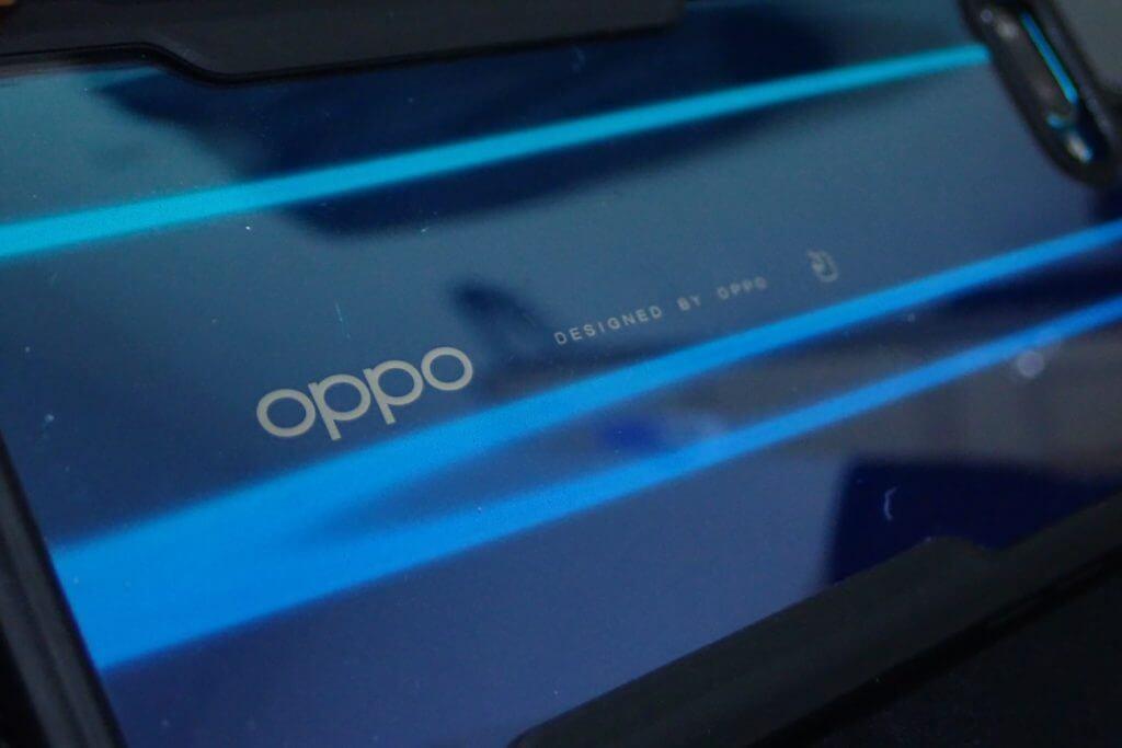 OPPOの文字もはっきり見える