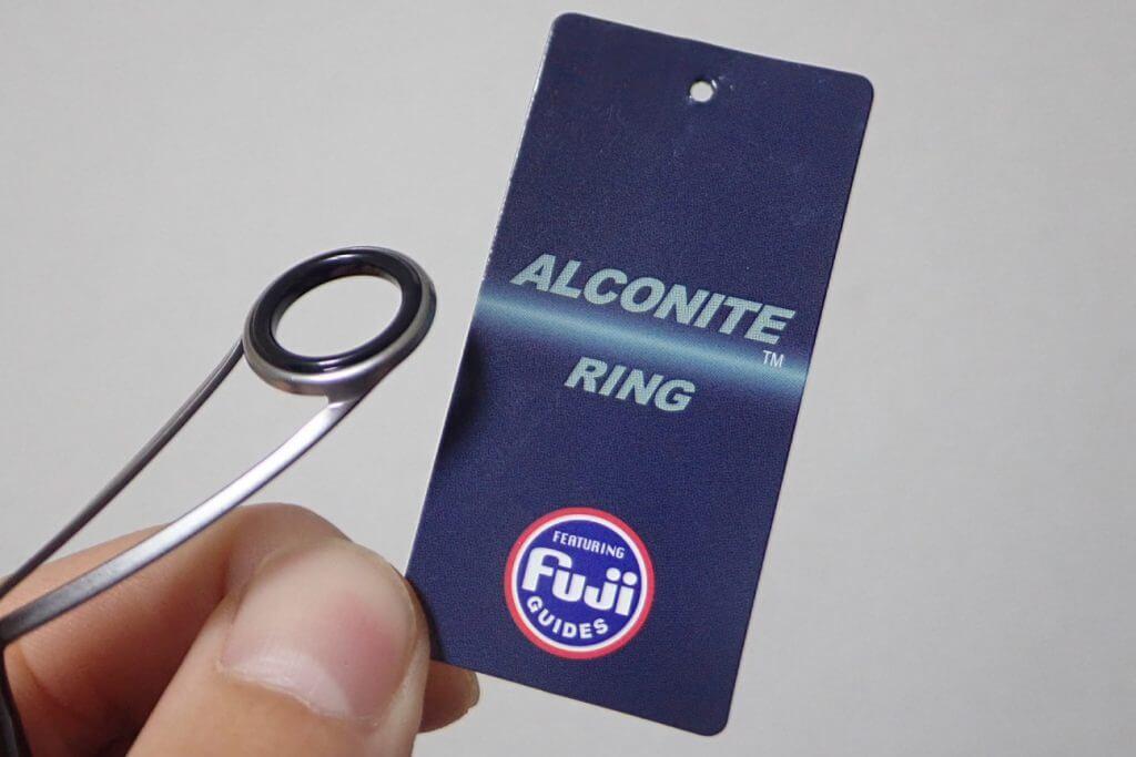 トップガイド以外はアルコナイトリングを使用